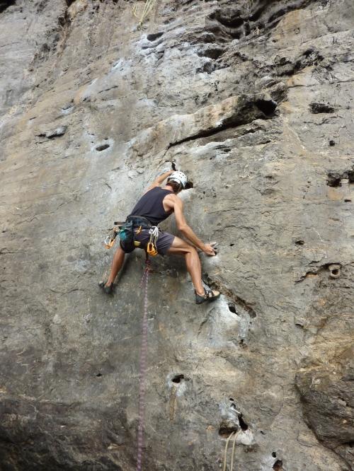 climbing thailand, pranang beach